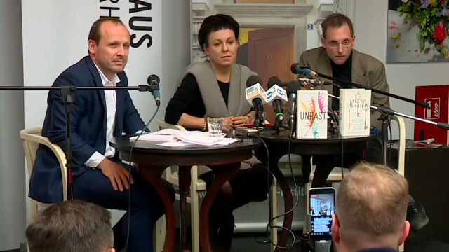 Olga Tokarczuk o wyborach parlamentarnych
