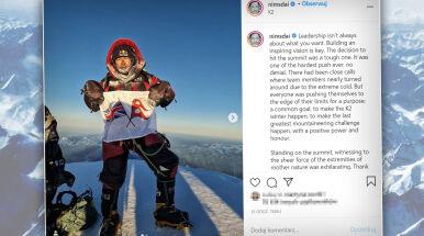 Sukces na K2 o niebo większy. Były komandos potwierdza