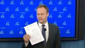 PiS apeluje do ABW o odtajnienie notatki dla premiera