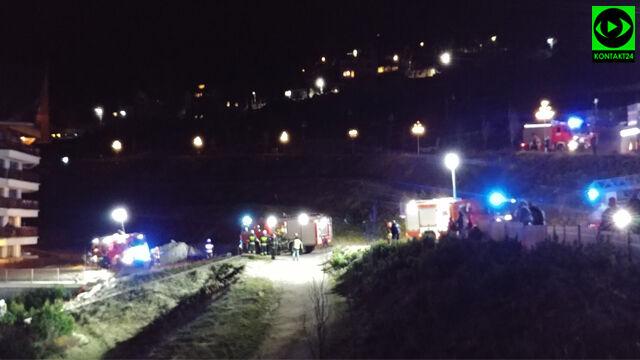 Pożar hotelu w Karpaczu