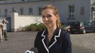 Joanna Trzaska-Wieczorek, szefowa biura prasowego: - Prezydent się przejęzyczył