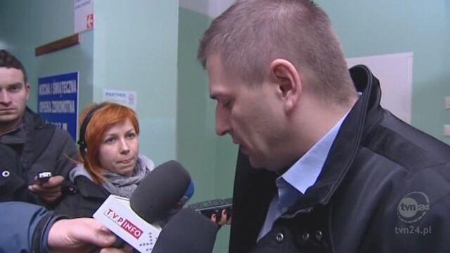 Minister zdrowia odwiedza poszkodowanych w szpitalach (TVN24)
