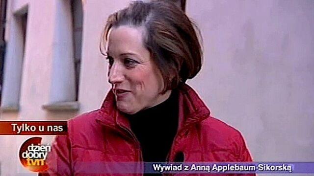 Applebaum o Radku, Pulitzerze i krakersach