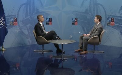 Stoltenberg dla TVN24: nie chcemy nowej zimnej wojny