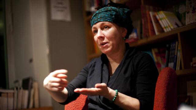Rozmowa z Olgą Tokarczuk, laureatką Międzynarodowej Nagrody Bookera (wideo z dn. 23.05.2018)