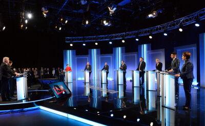 Cała debata partyjnych liderów