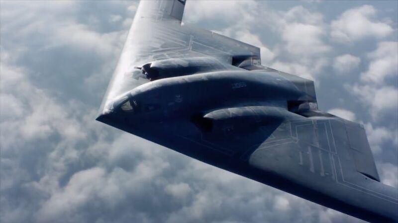 Nowy bombowiec strategiczny będzie wyglądał bardzo podobnie do B-2
