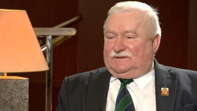 Wałęsa o sprawie Piniora: nie wierzę w to, był maksymalnie uczciwy i maksymalnie oddany