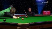 Setka Allena w 2. frejmie starcia z Higginsem w 1. rundzie Masters