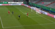 Puchar Niemiec. Holstein Kiel - Bayern 1:1. Gol Fin Bartels