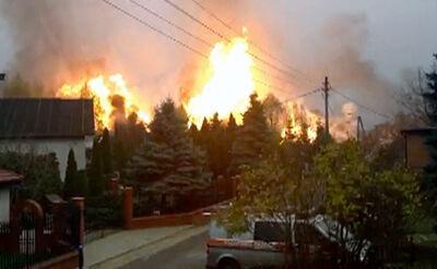 Eksplozja gazu w Jankowie Przygodzkim. Zginęły dwie osoby