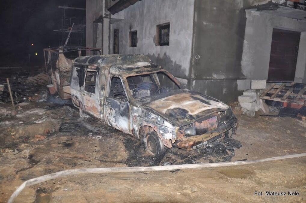 Straty jakie wywołał ogromny pożar liczone są w milionach złotych