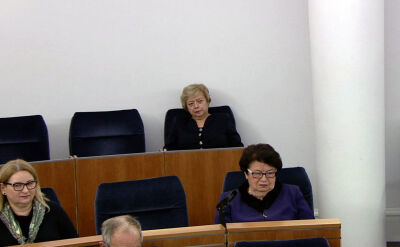Małgorzata Gersdorf powitana na posiedzeniu Senatu