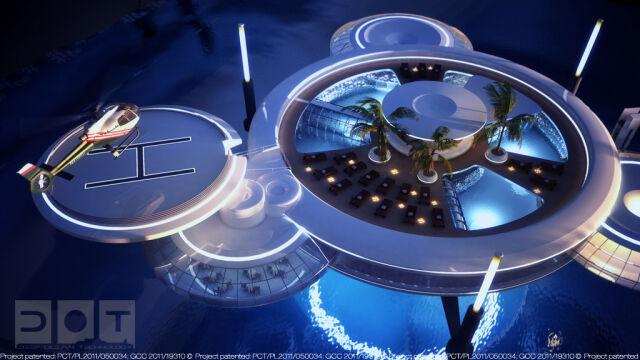Budowa prototypu Water Discus Hotel ma się rozpocząć w przyszłym roku