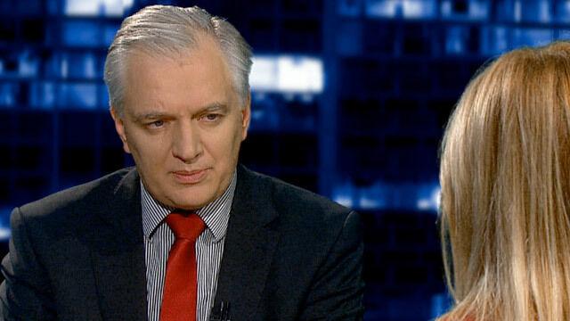 Minister Gowin jest pewny, że w Smoleńsku doszło do katastrofy