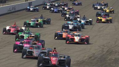 Świetna końcówka w Indianapolis. McLaughlin najlepszy w wirtualnym wyścigu IndyCar