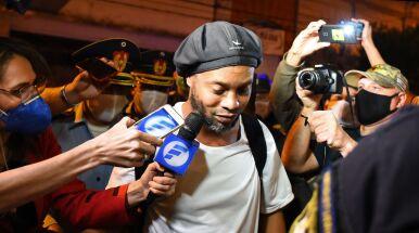 Pierwszy wywiad Ronaldinho po wyjściu z aresztu.