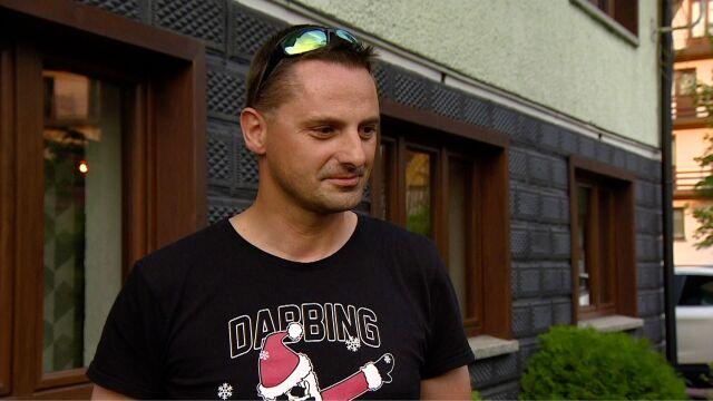 Ratownik medyczny pomagał w akcji ratowniczej po przejściu burzy w Tatrach. Cała rozmowa