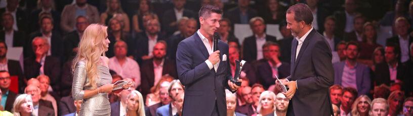 """Lewandowski """"Gwiazdą Roku"""" w Niemczech. Pokonał nawet mistrza świata w skokach"""