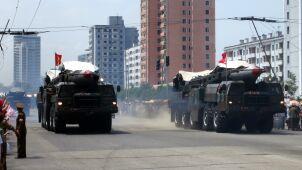 Korea Północna wystrzeliła dwie rakiety balistyczne krótkiego zasięgu