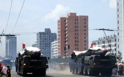 Północnokoreańskie testy rakiet balistycznych
