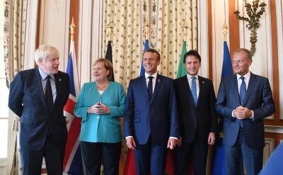 Europejscy przywódcy na szczycie G7