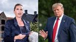 Prezydent USA, Donald Trump i premier Danii, Mette Frederiksen poróżnili się w sprawie Grenlandii