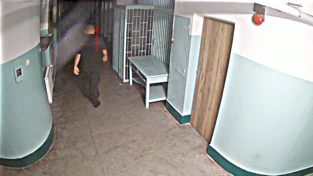 Ministerstwo Sprawiedliwości pokazało nagrania sprzed celi Kosteckiego