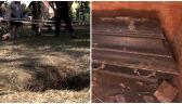 W szczecińskim parku dzieci odkryły grobowiec