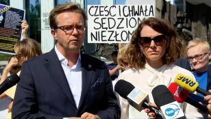 """""""Widzimy jak w soczewce,  co się wydarzyło z polskim wymiarem sprawiedliwości"""""""