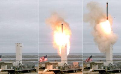 USA przeprowadziły test nowej rakiety średniego zasięgu