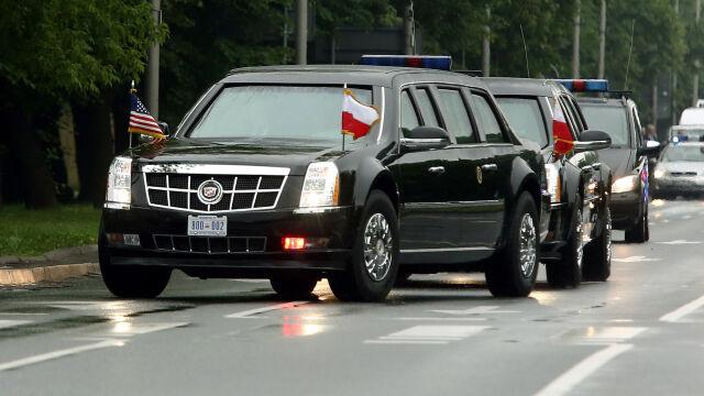 Tak Barack Obama jechał przez Warszawę. Zobacz którędy wiodła trasa