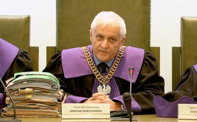 Zawistowski o orzekaniu dwóch sędziów, którzy nie otrzymali postanowienia prezydenta