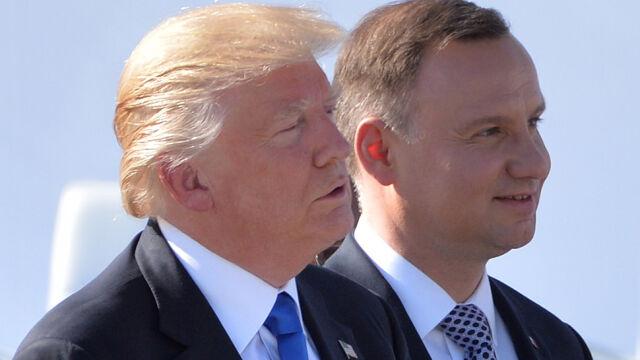 """Prezydent: wizyta Donalda Trumpa będzie miała """"wymiar historyczny"""""""