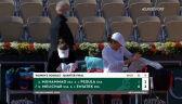 Świątek i Melichar przełamały rywalki w 2. secie gry podwójnej w ćwierćfinale Roland Garros
