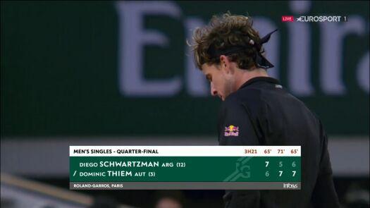 Thiem bliżej półfinału Roland Garros