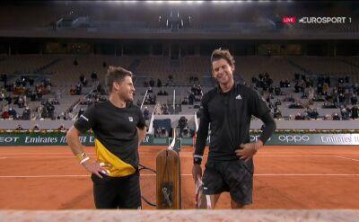 Schwartzman pokonał Thiema w ćwierćfinale Roland Garros