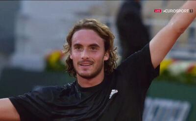 Tsitsipas awansował do półfinału Roland Garros