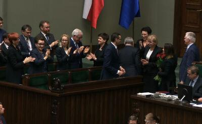 Sejm wyraził wotum zaufania dla rządu Morawieckiego