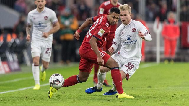 05430c6bb Serge Gnabry piłkarzem listopada w Bayernie Monachium | Eurosport w ...