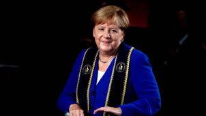Merkel z kolejnym tytułem od niemieckiej uczelni.