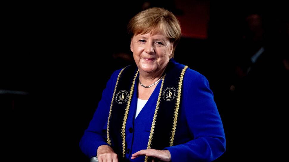 """Merkel z kolejnym tytułem od niemieckiej uczelni. """"Wrócę i zostanę na dłużej"""""""