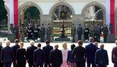 """Na Grobie Nieznanego Żołnierza złożono wieniec ze słowami """"Pamięć i przestroga"""""""
