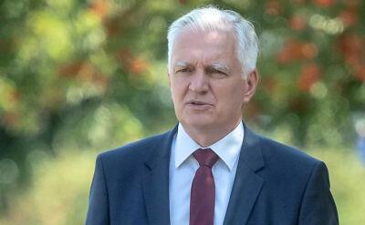 Gowin o wypowiedzi Kaczyńskiego: nie zgadzam się z tak sformułowanymi słowami