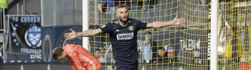 Polacy czarują w MLS. Gole Frankowskiego i Przybyłki