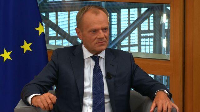 Tusk: Jarosław Kaczyński ma obsesję na moim punkcie