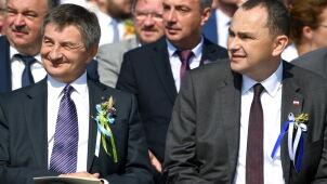 Poseł Kuchciński na dożynkach. Odczytał list od prezesa PiS