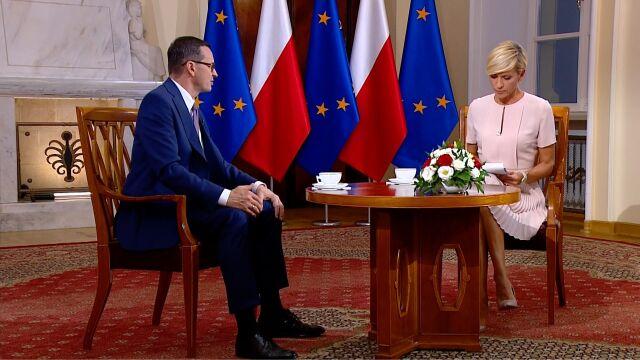 Premier Morawiecki: projekt ustawy o jawności majątku rodzin polityków gotowy do przedstawienia