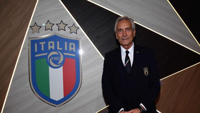 """Wznowią sezon albo """"katastrofa"""". """"Nie chcę być grabarzem włoskiej piłki"""""""