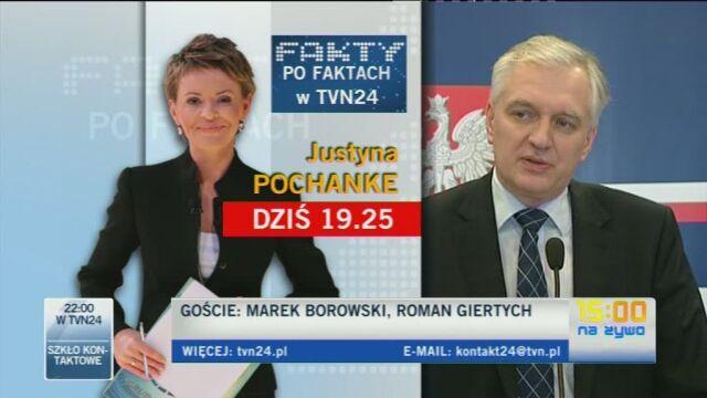 Minister Gowin o spotkaniu z politykami PiS ws. deregulacji (TVN24)